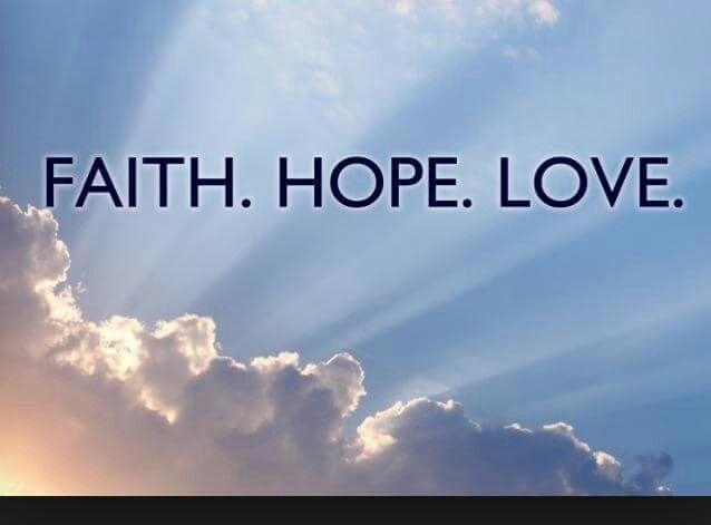 Geloof, hoop, liefde