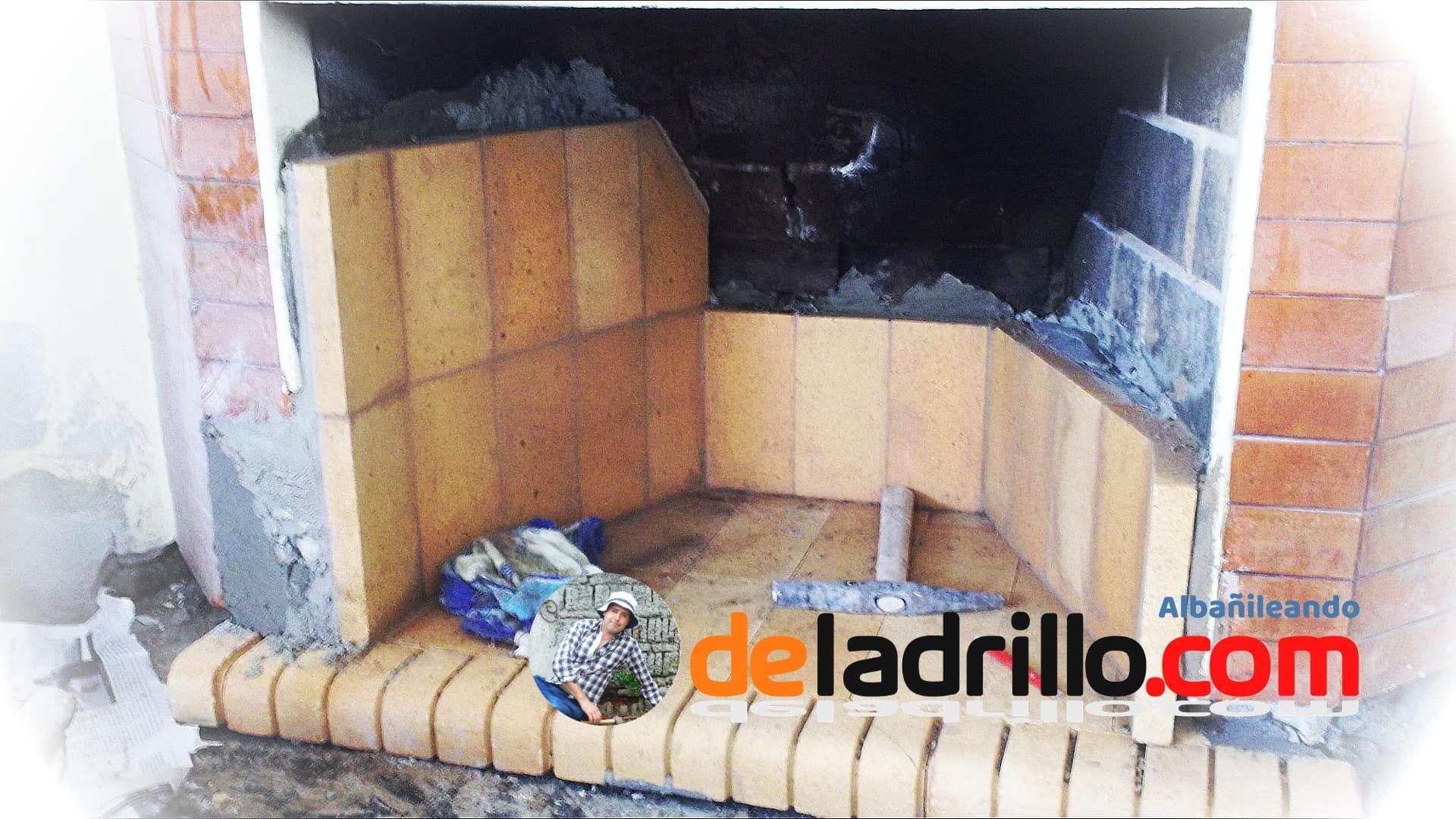 Remodelar La Chimenea Chimeneas Como Pegar Ladrillos Ladrillos Refractarios
