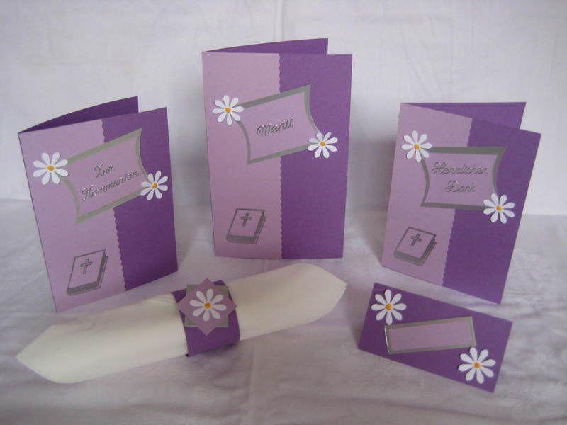 einladungskarte konfirmation/kommunion 023 von karten-a-la-carte, Einladung