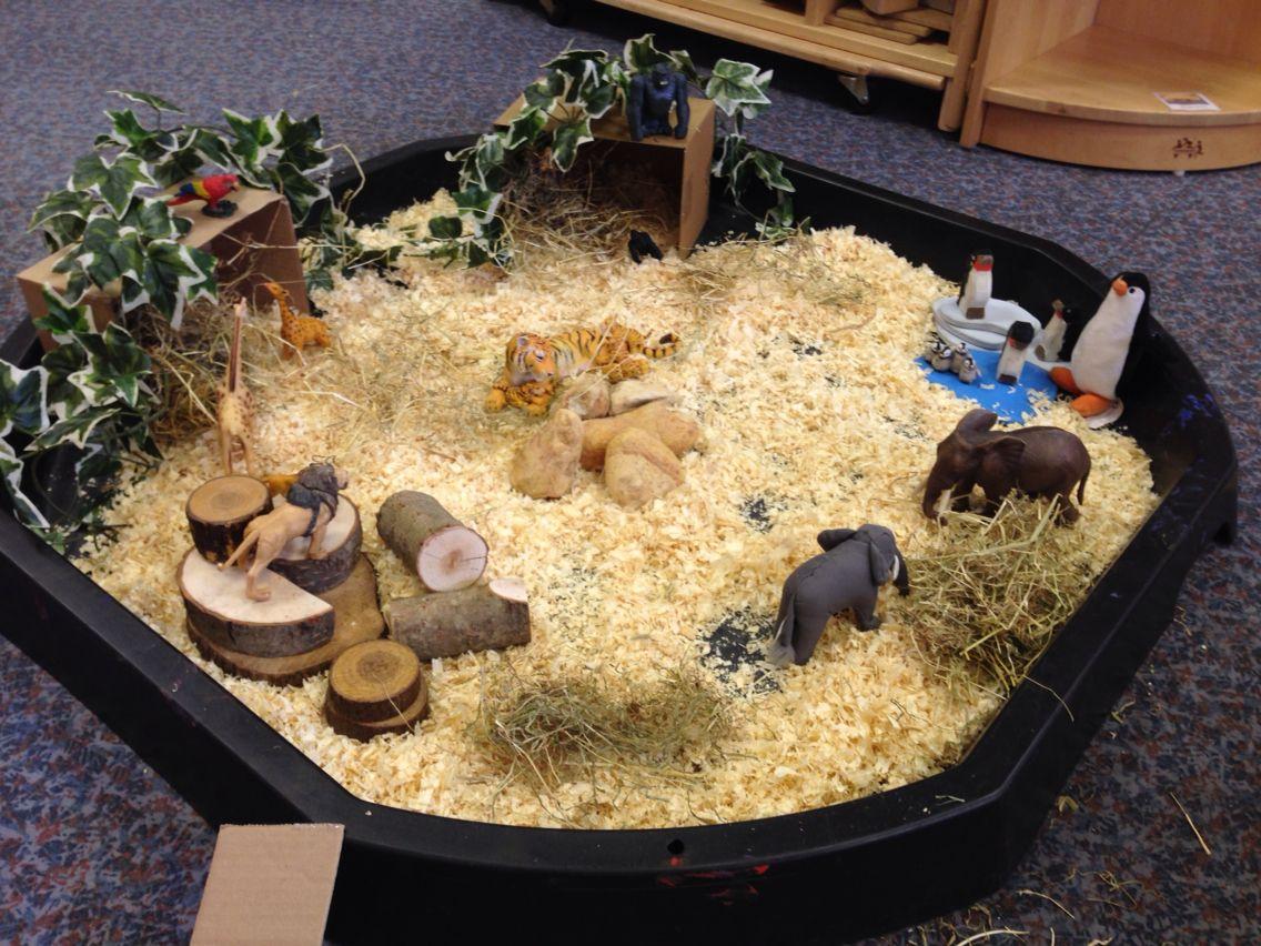 BC Language Arts Oral Language Small world Zoo