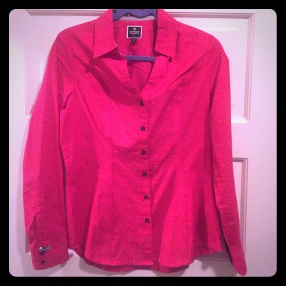 The Essential Shirt Great condition. Worn very few times! Express Tops Button Down Shirts