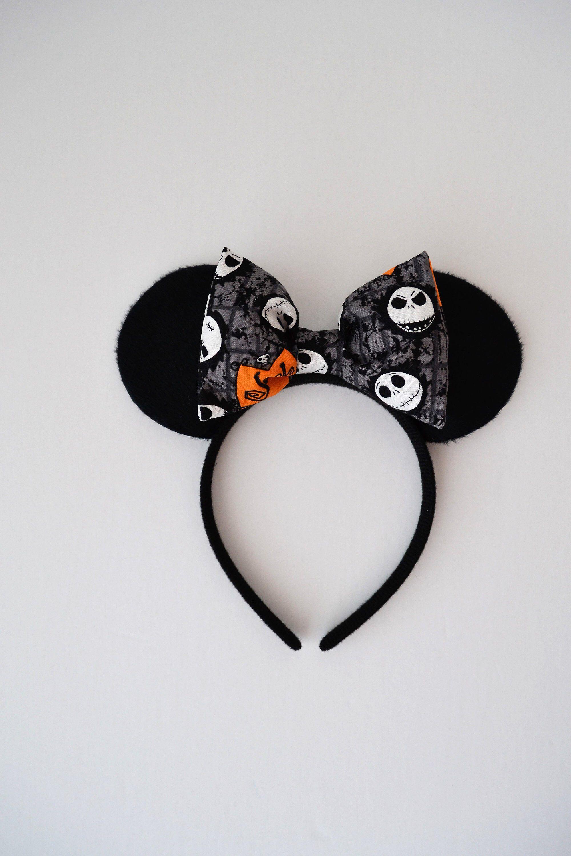 Jack Skellington Minnie Mouse Ears Jack Skellington