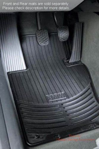 Bmw X3 E83 Genuine Factory Oem 82110305566 Black Front All Season Mats 2004 2010 Set Of 2 Front Mats Bmw Http Www Amazon Co Bmw Rubber Floor Mats Bmw 325