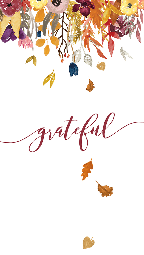 Fall iPhone wallpaper GRATEFUL.jpg Box lockscreen's