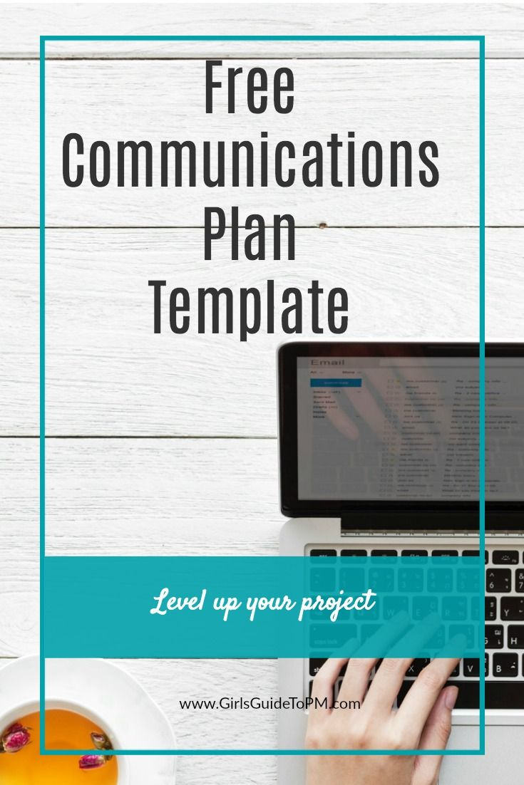 Free Communications Plan Template Pinterest Project Management - Easy project management template