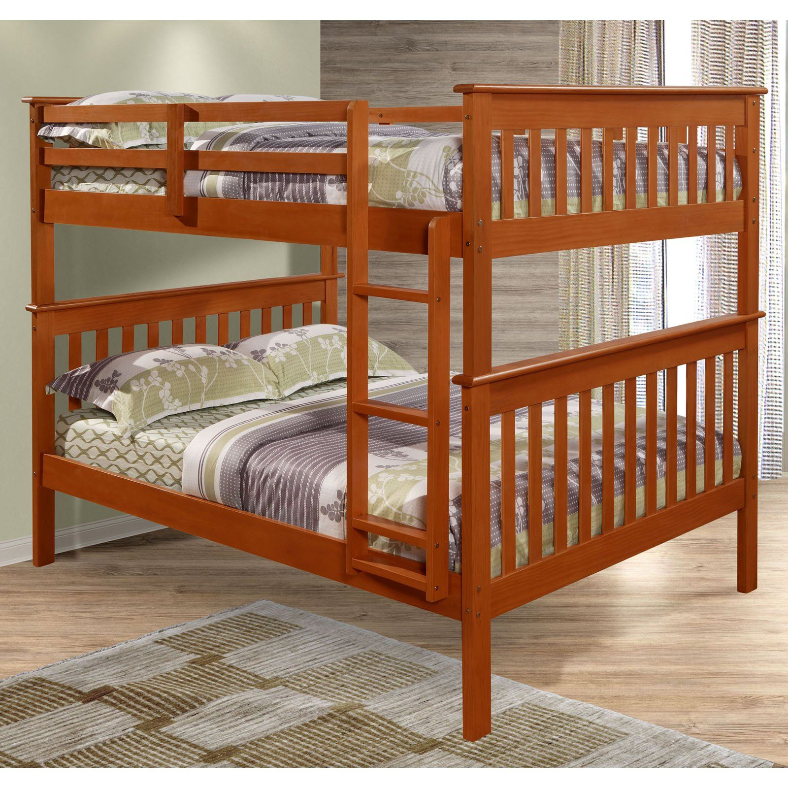 Donco Kids Full Over Mission Bunk Bed