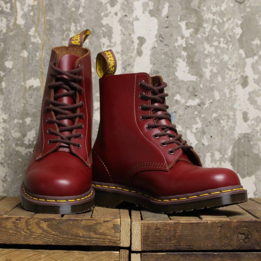 Dr Martens Made in England Oxblood 1460 Boots