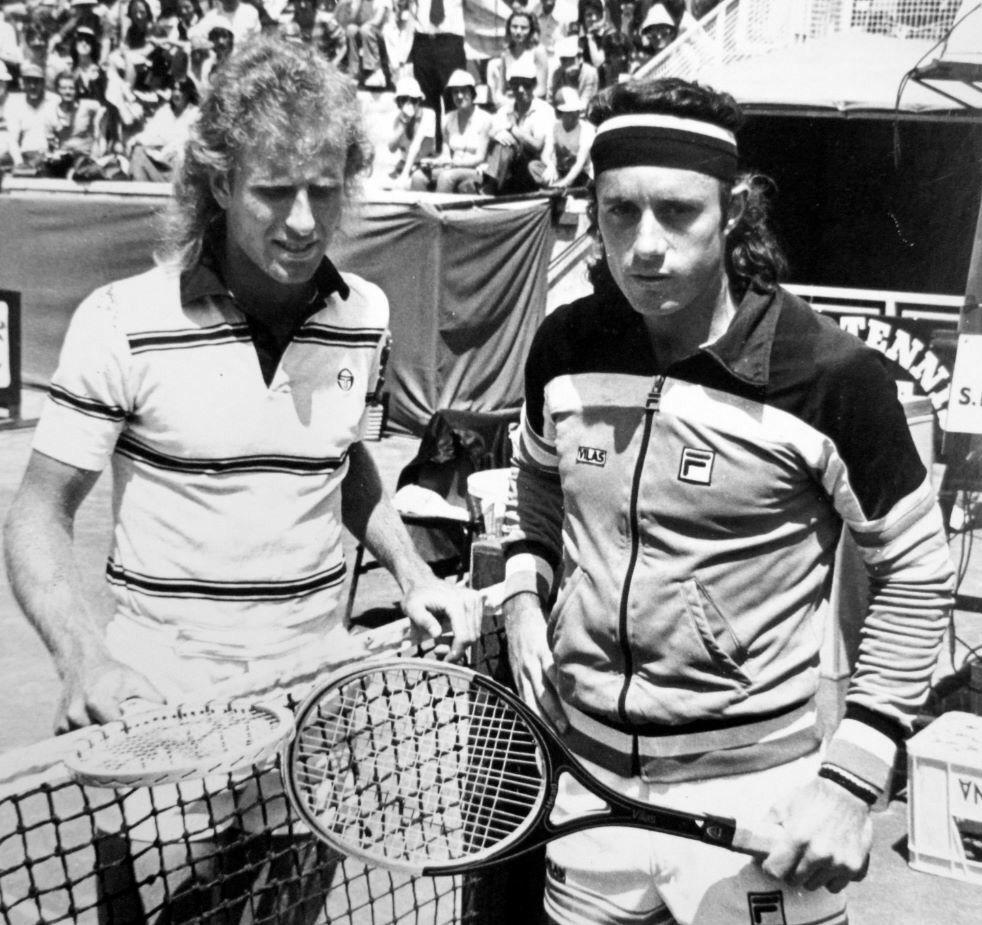 26 07 1979 finale internazionali d Italia Guillermo Vilas e Vitas