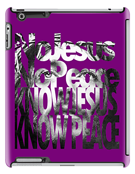 Know Jesus iPad case