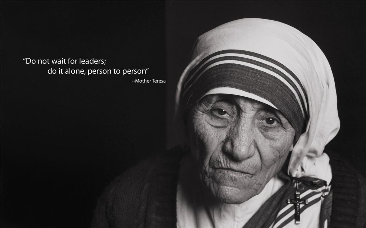 Mother Teresa Glossy Poster Picture Photo Calcutta Theresa
