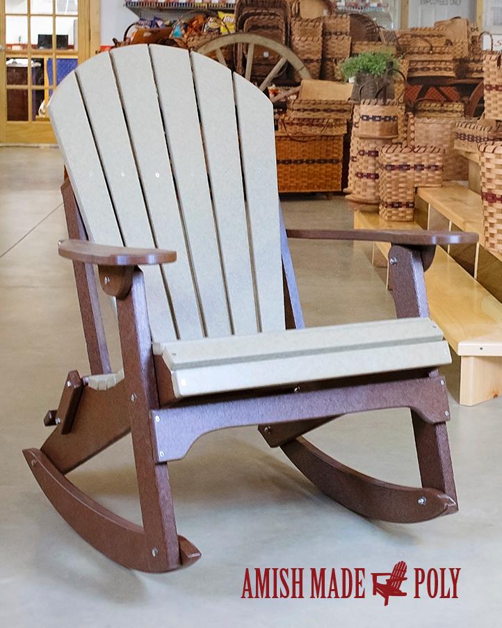 Adirondack Rocking Chair Wood Rocking Chair Adirondack Rocking