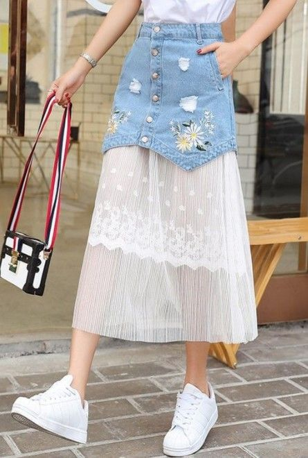 50+ casual skirt outfits need to try #casualskirts
