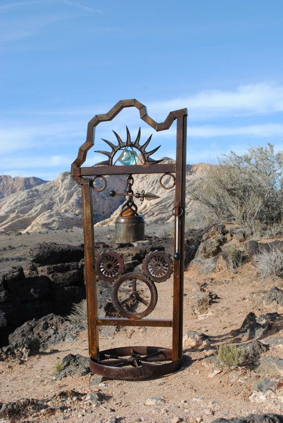 Recycled metal sculpture yard art Pick Up only no by ...