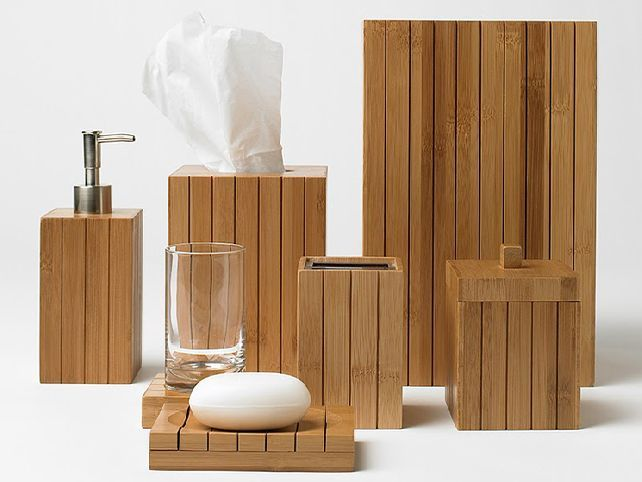 Bamboobathroomaccessories  Home  Bamboo Bathroom  Pinterest Gorgeous Bamboo Bathroom Accessories Design Inspiration