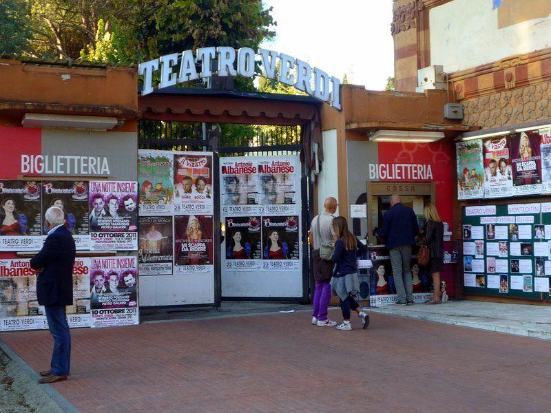 Teatro Verdi, sede della nostra scuola