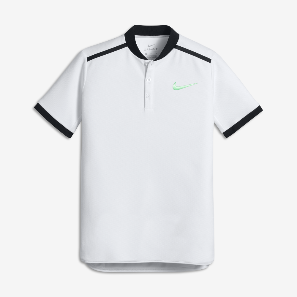 Nike Nikecourt Advantage Big Kids Boys Tennis Polo Shirt Size Tennis Polo Polo Big Kids