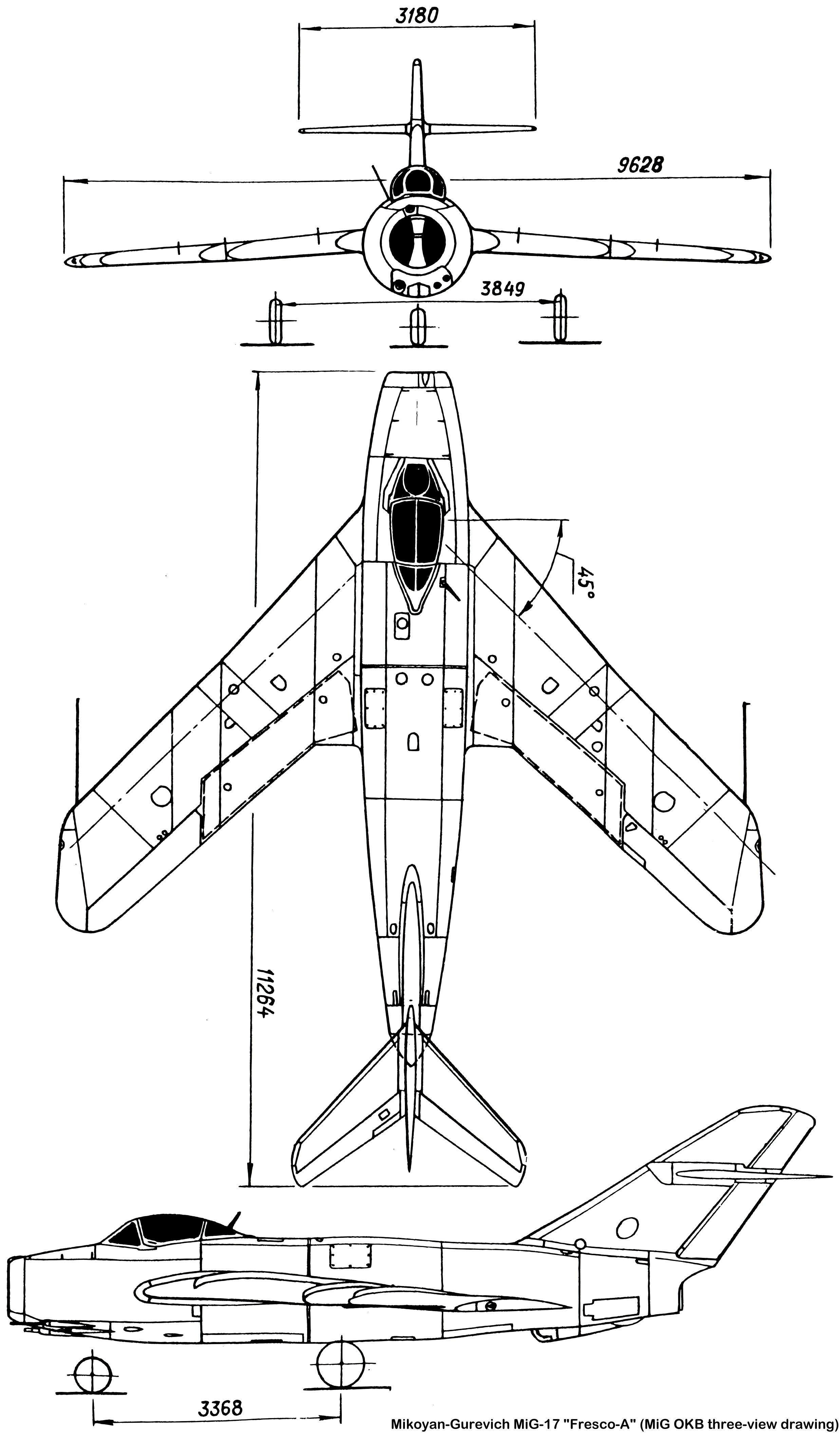 Mig 17 Diagram