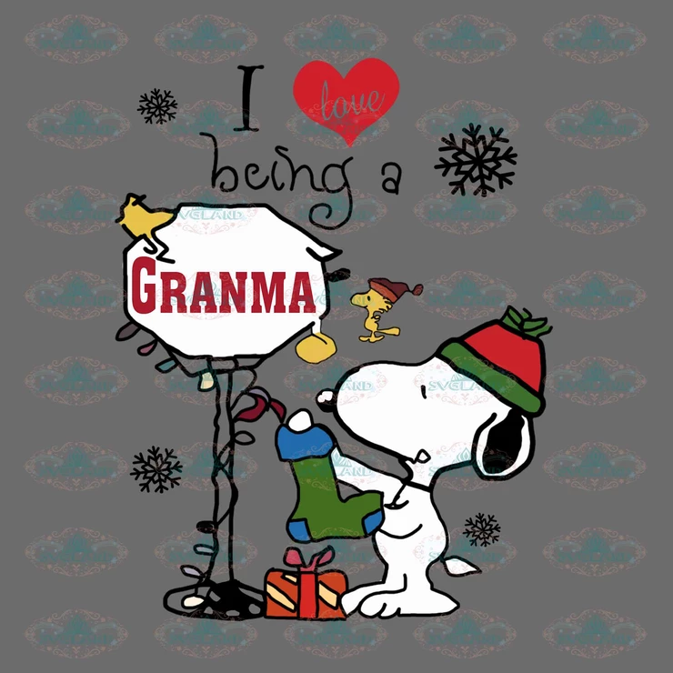 Download I love being a grandma, snoopy, snoopy png, snoopy clipart ...