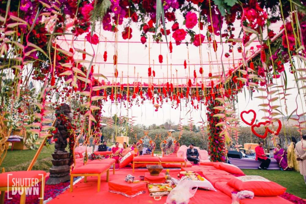 Best Wedding Venues In Mussoorie That Suits For Your Wedding Wedding Mandap Mandap Wedding Costs