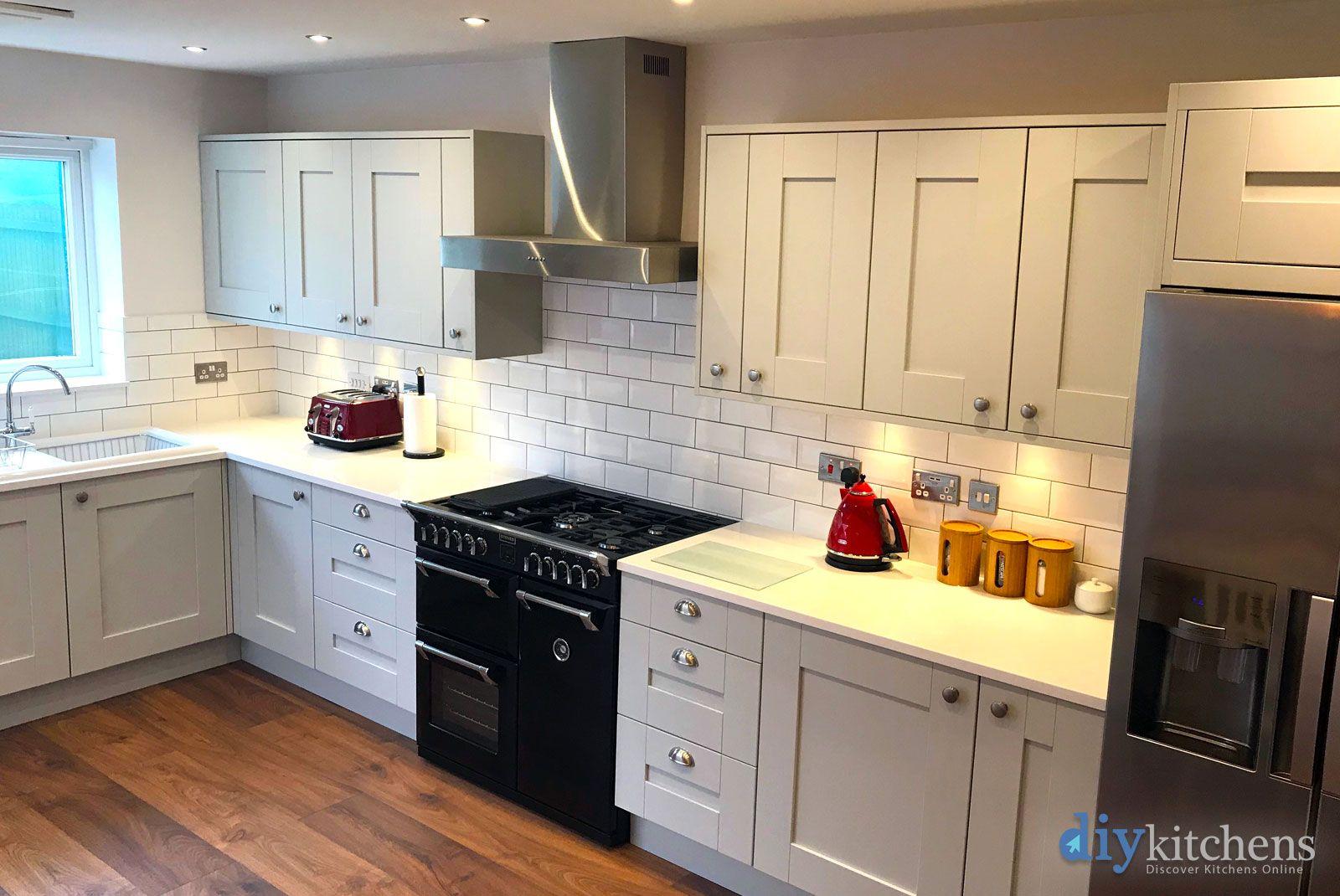 Best An Innova Malton Dove Grey Shaker Kitchen Grey Shaker 400 x 300