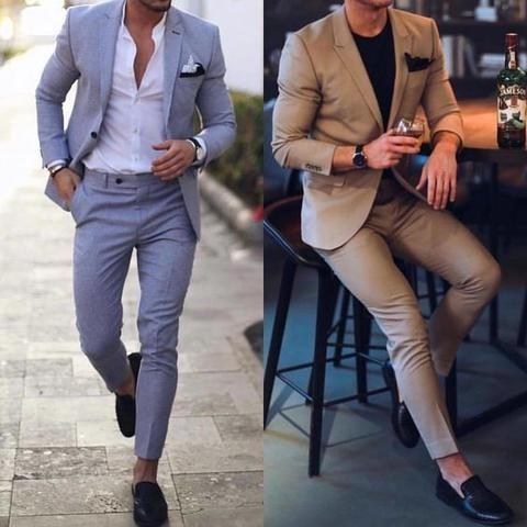 Men Wedding Suits Prom Best Man Suit (Jacket+Pants+Bow) – myshoponline.com #menssuits