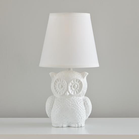 Not so nocturnal table lamp in table lamps the land of nod owls are so cute not so nocturnal table lamp the land of nod mozeypictures Choice Image