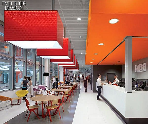Bbc news hok completes their world hq in london office - Interior design colleges in london ...