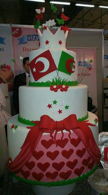 Algérie Alger #Salon Du Chocolat #Pièce Montée Stand Turc. Février 2016