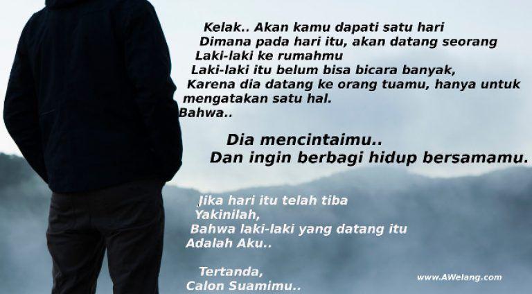 Kata Kata Cinta Islami Untuk Calon Istri Cikimm Com