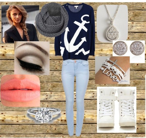 """""""casual day"""" by abbie-cleveringa ❤ liked on Polyvore"""