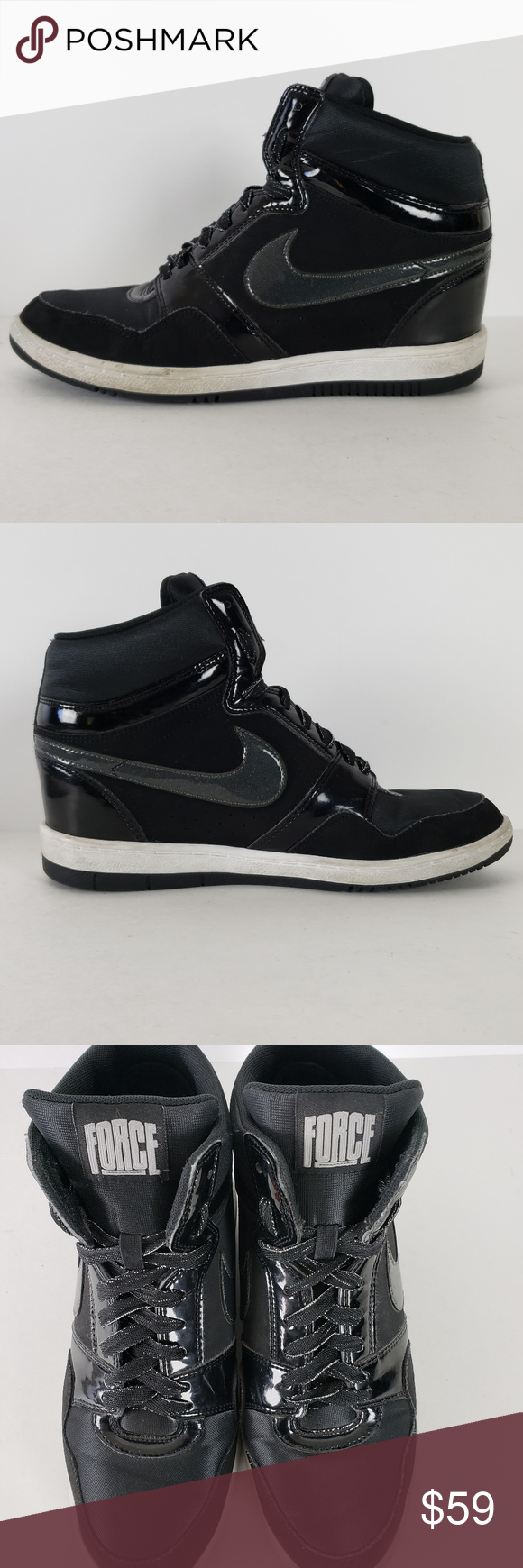 Nike Force Sky High 629746 001 Women Shoes Size 11 This is