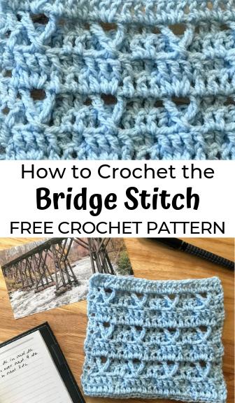 How to Crochet the Bridge Stitch