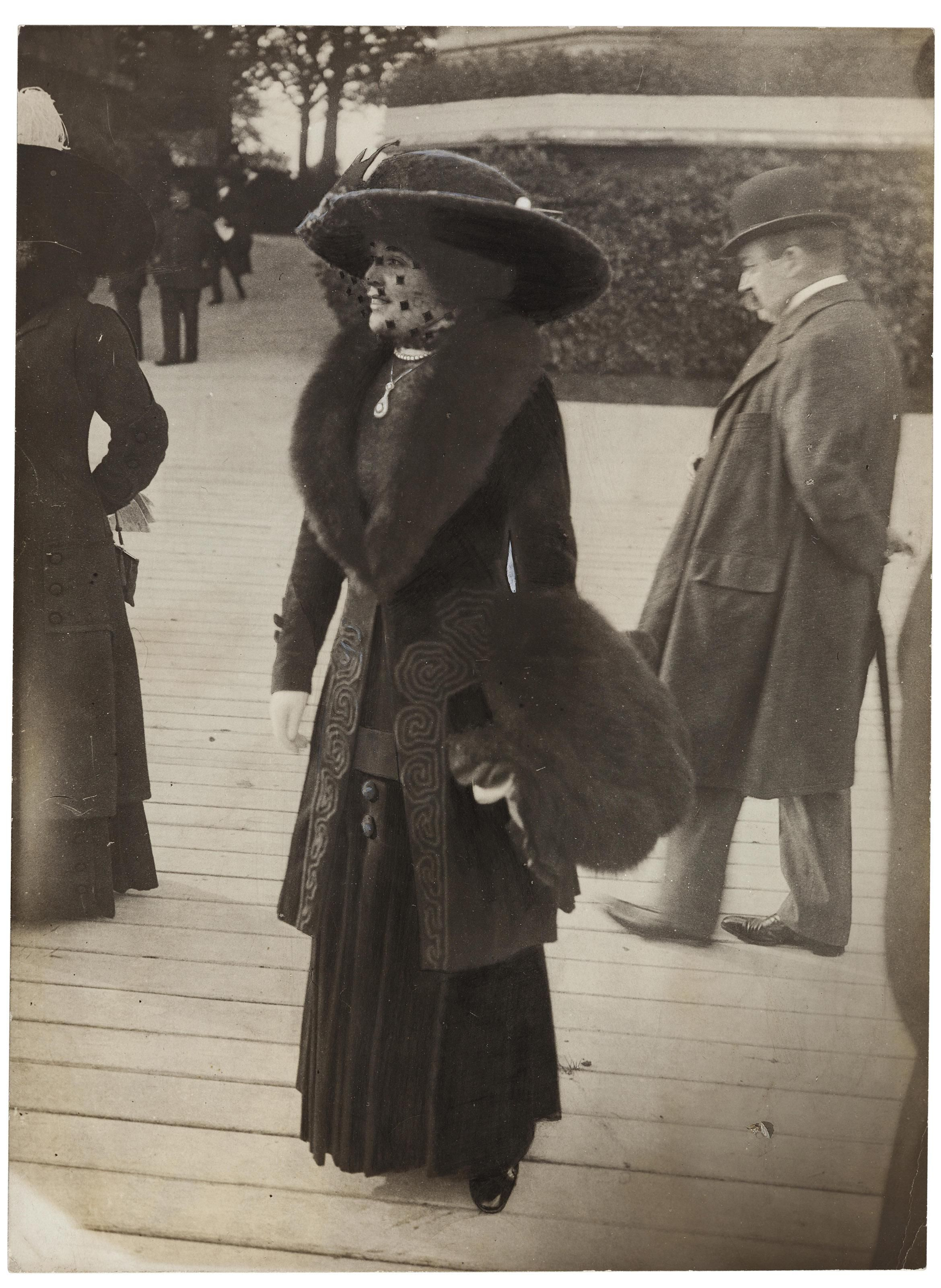 From The Series Belles Dames Du Bois De Boulogne 1910 1912 Belle Epoque Edwardian Fashion Vintage Photographs