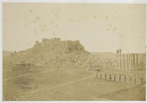 Athènes - Vue générale de l'Acropole james robertson