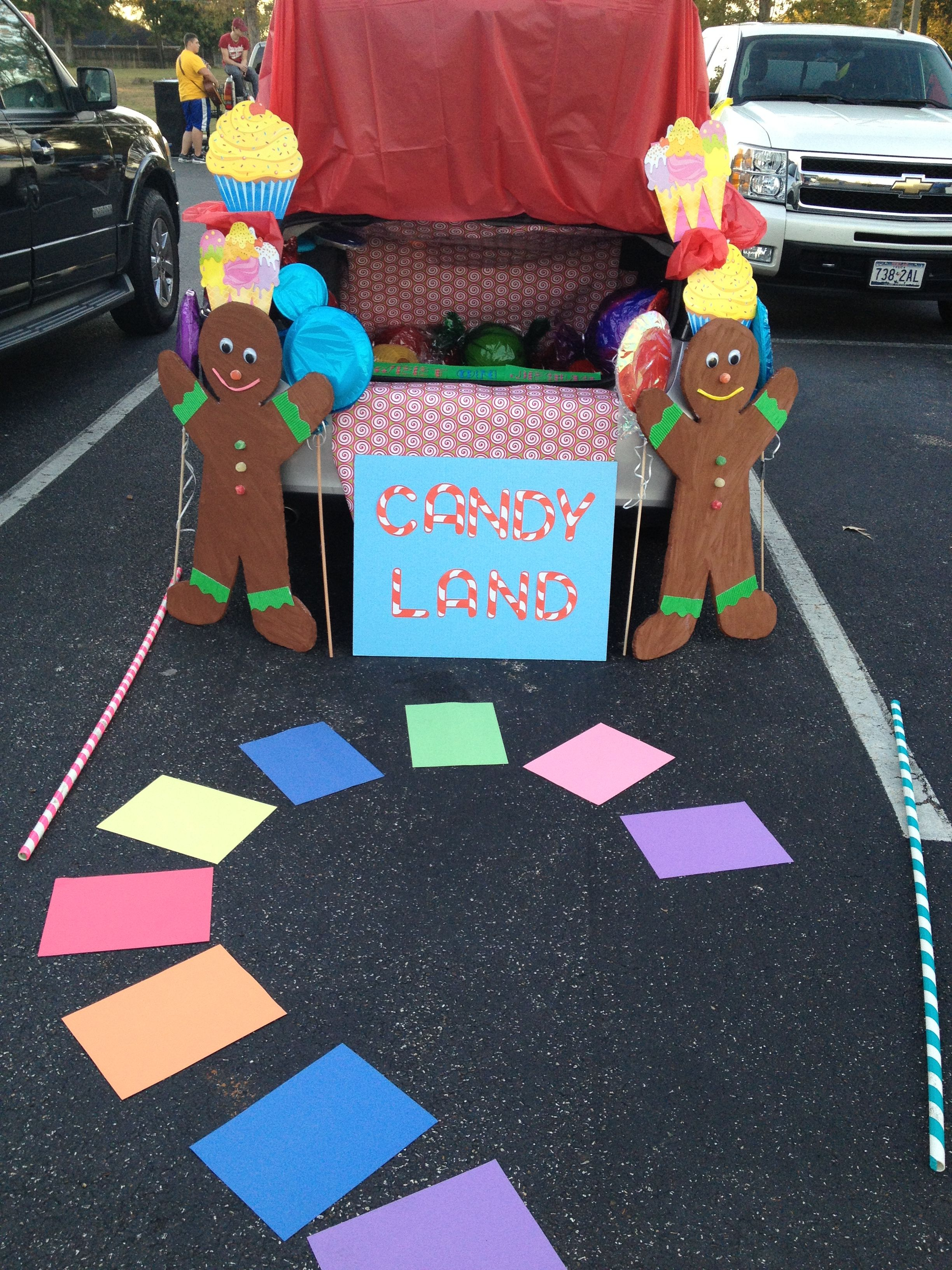Trunk or Treat Candy Land | Trunk or Treat ideas ...