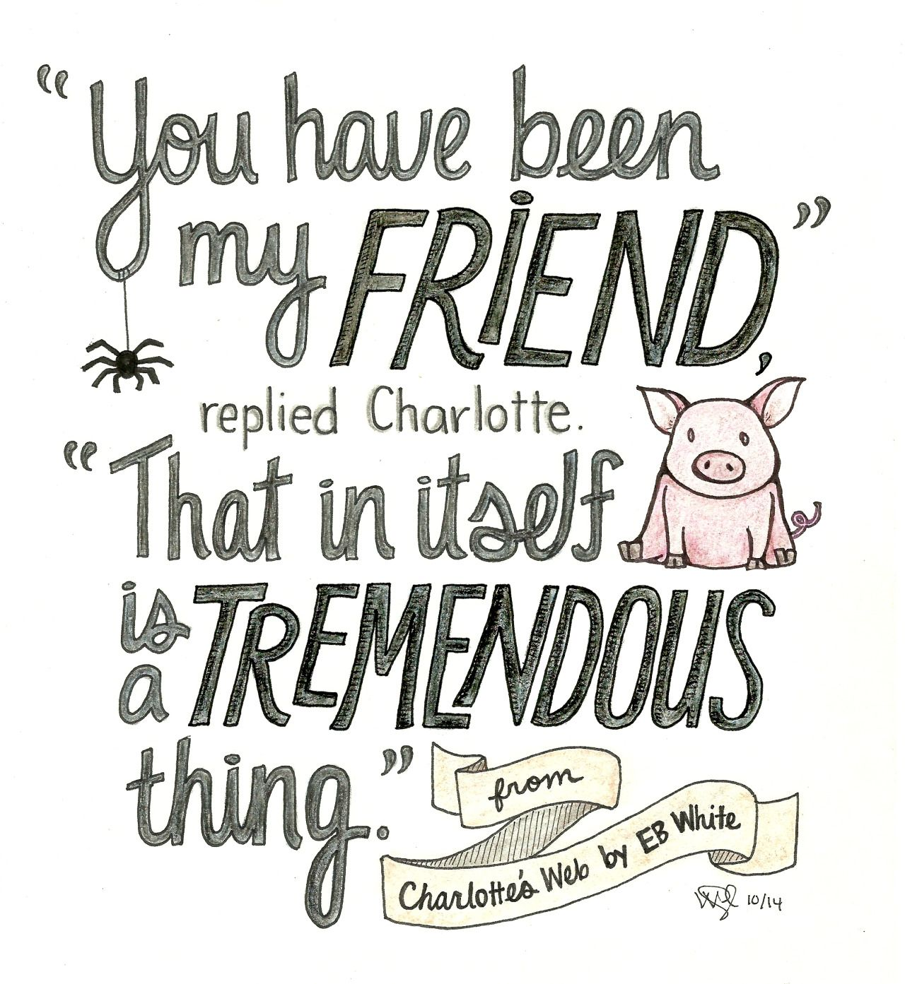 Quotes Of Charlotte's Web