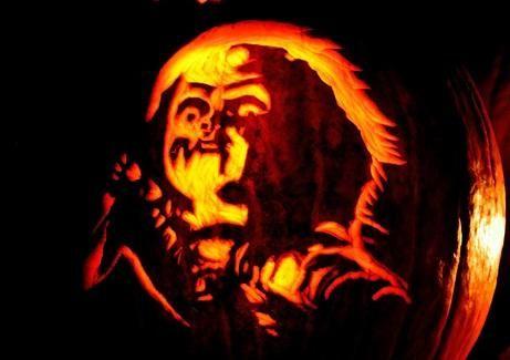 Halloween Movie Pumpkin Stencil.Gallery For Horror Movie Pumpkin Stencils Halloween Pumpkin
