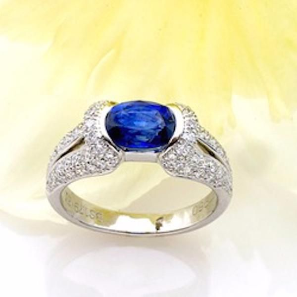 one diamonds with engagement carat artemer products sapphire ring