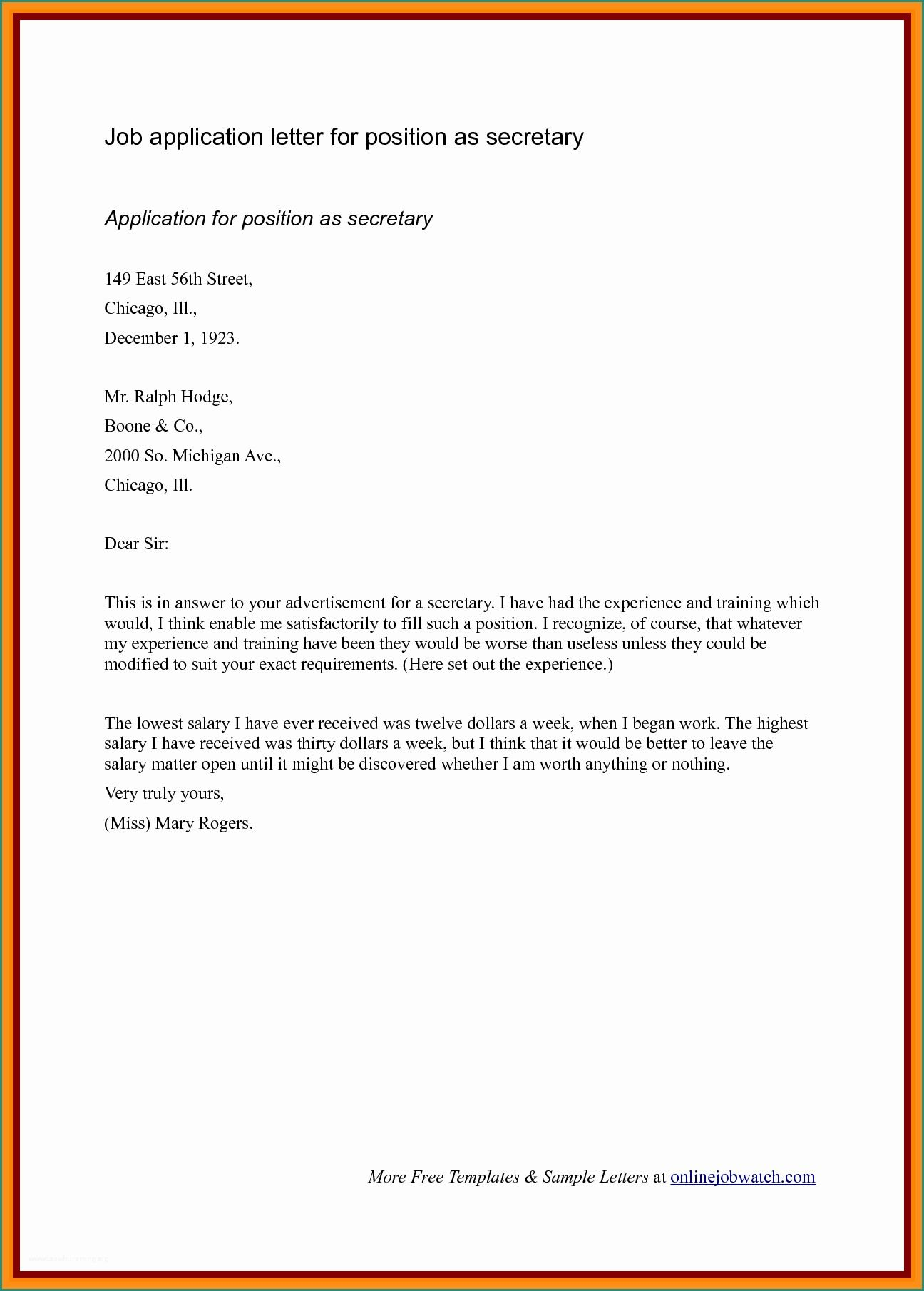 23+ Short Cover Letter Examples in 2020 Cover letter for