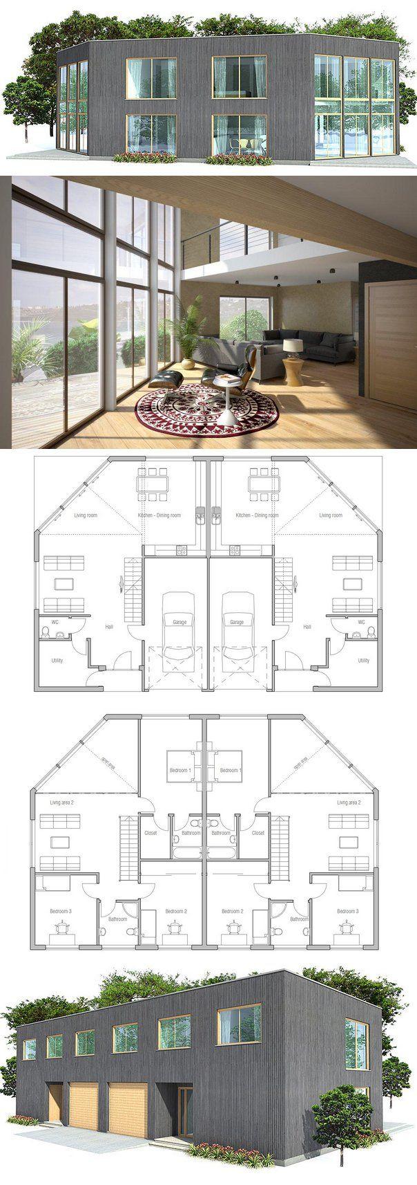 Plan De Maison Duplex More