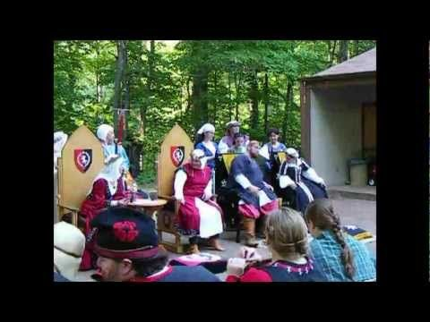 SCA Gulf Wars XXII 2013 Camp Life and Battles - YouTube