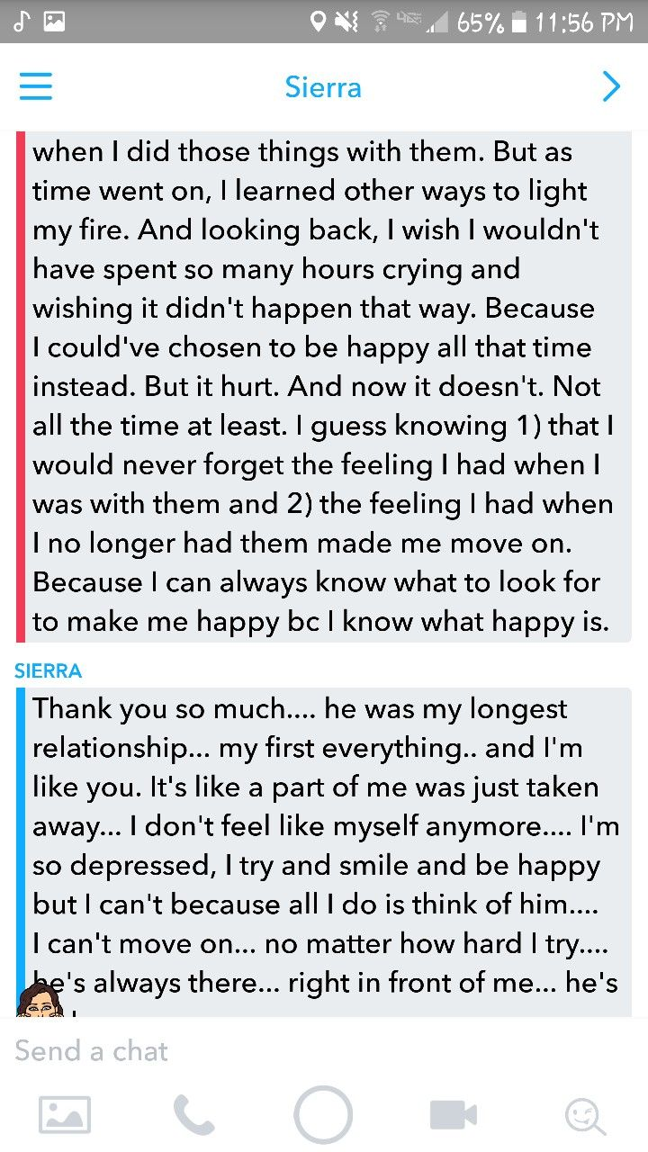 Advice for someone who is heartbroken