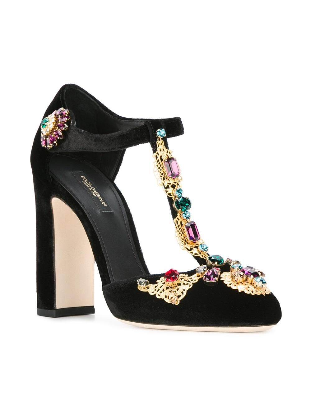 Dolce & Gabbana Vally Mary Jane Pumps - Farfetch