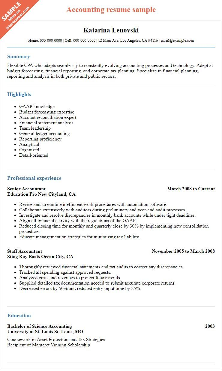 How To Prepare an Effective Accountant Resume to Succeed