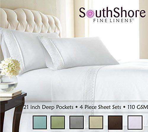 Amazon Com 21 Inches Extra Deep Pocket 1200 Thread Count Egyptian Cotton Sheet Set 1200tc California King Soli Deep Pocket Sheets Fine Linens Sheet Sets How deep are deep pocket sheets