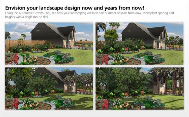 charmant comment faire un plan 3D de son jardin - logiciel gratuit Punch Landscape  Designer