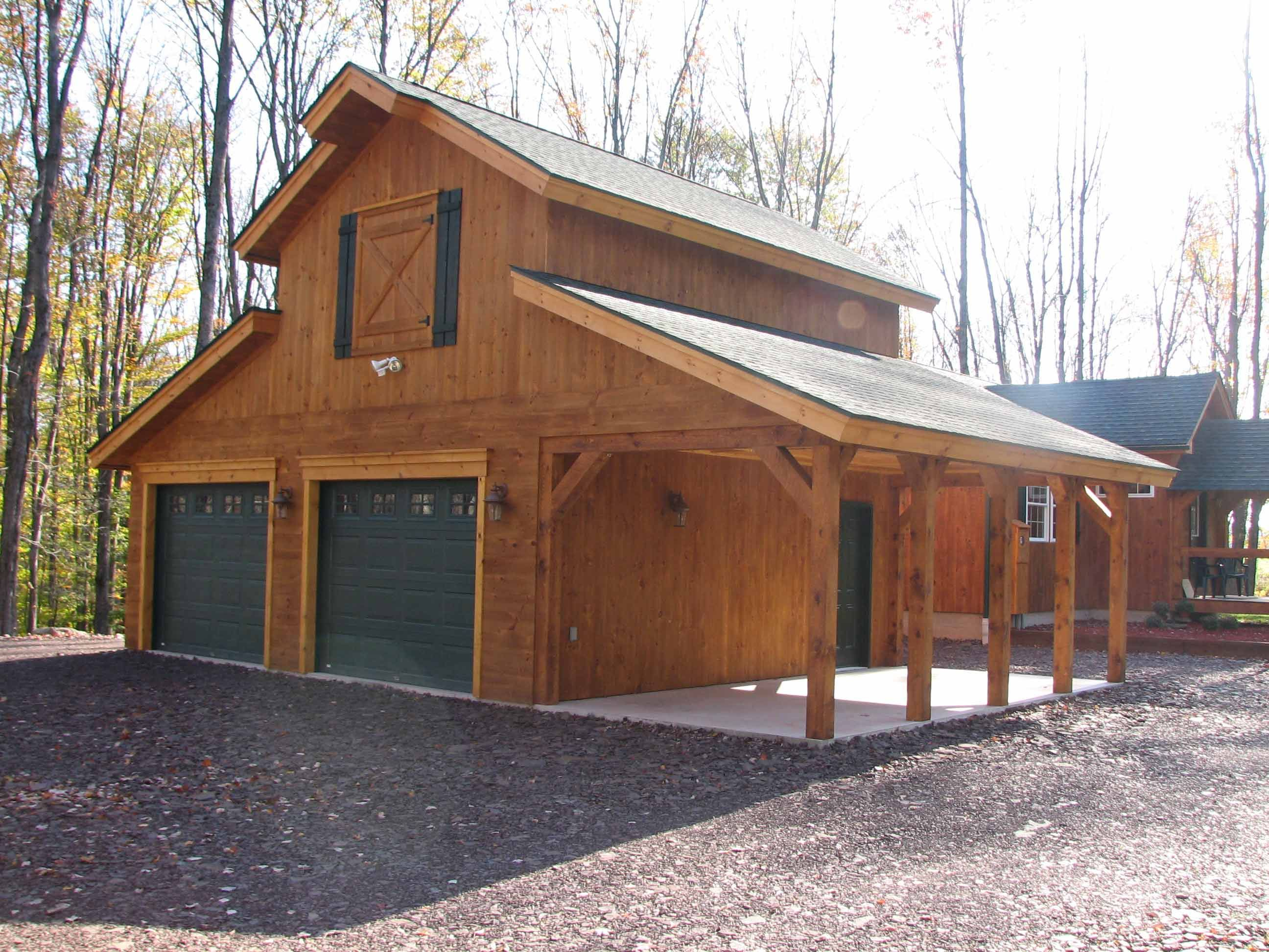 Large Garage For Motorhome And Guest Quarters Above Barn House Plans Barn Garage Plans Pole Barn Homes