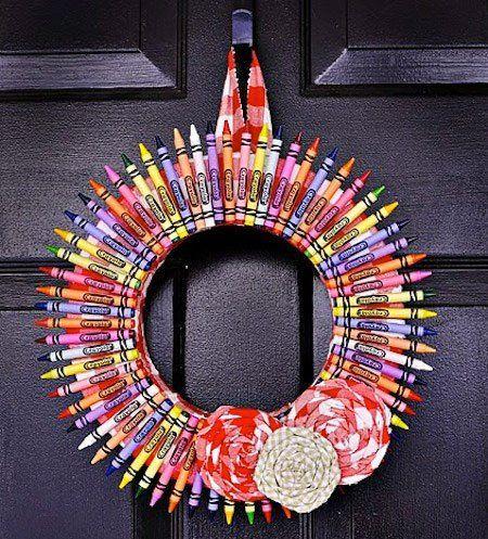 31 Coronas De Navidad Originales Instrucciones Trucos Y Astucias Coronas De Navidad Artesanías Para Hacer Y Vender Manualidades