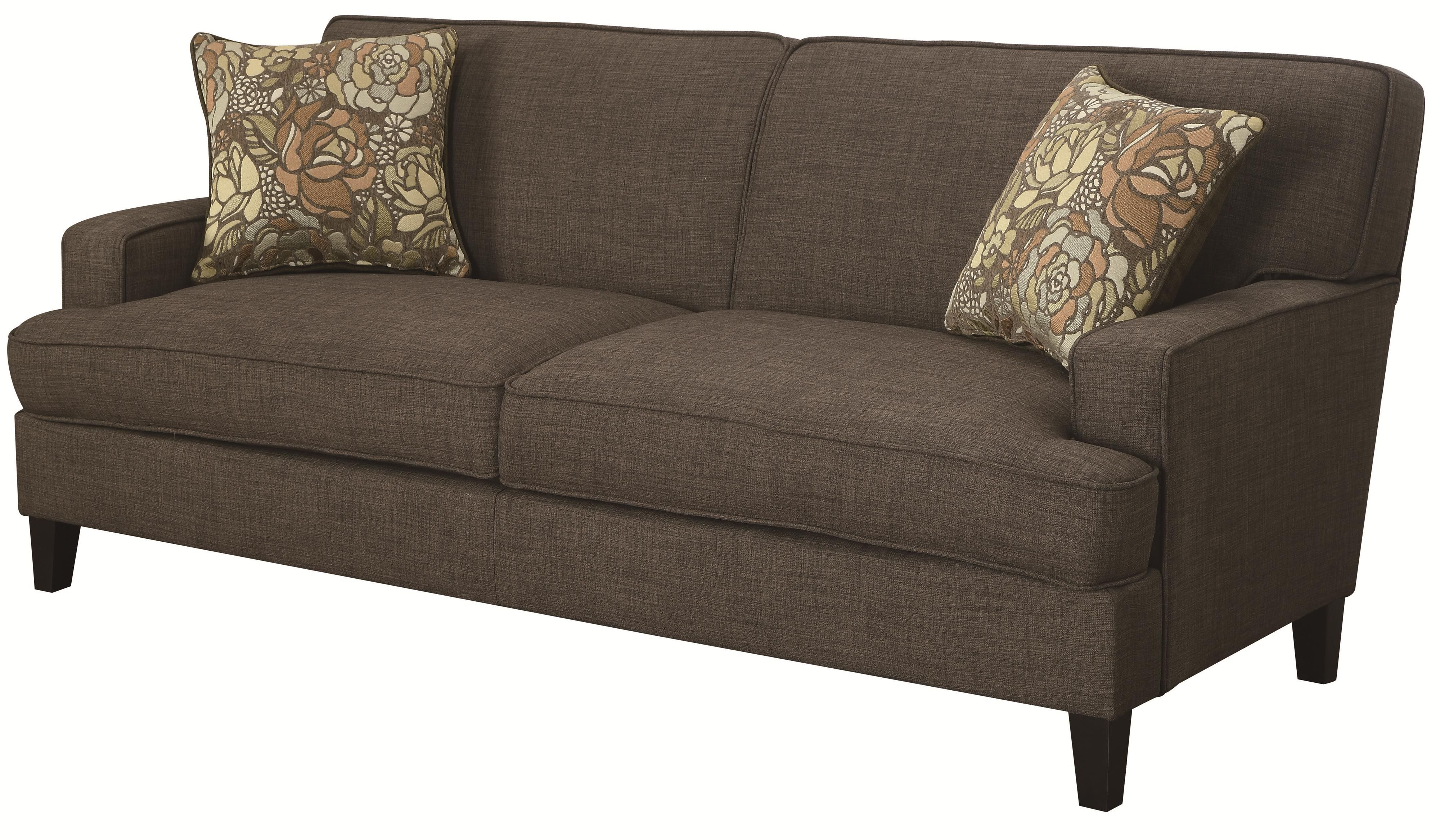 Coaster Finley Transitional Styled Sofa With Track Arms   Rooms Furniture    Sofa Houston, Sugar