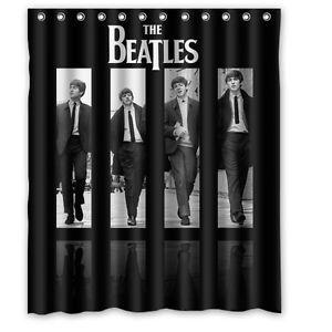 Beatles Merchandise Shower Curtain New Arrival The Beatles